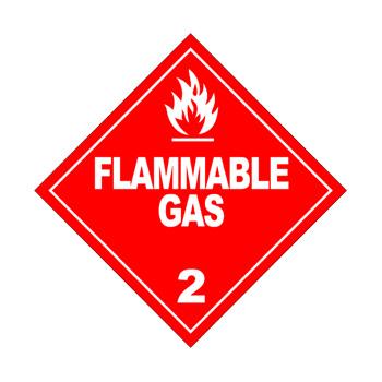 Flammable Gass Class 2