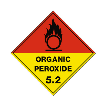 Organic Peroxide Class 5.2 Sign