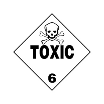 Toxic Sign Class 6
