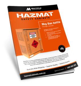 Multifile 9kg Gas Bottle Hazmat Cabinets