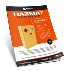 Multifile Flammable Hazmat Cabinets