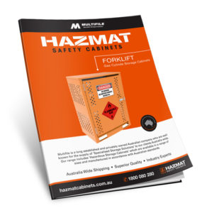 Multifile Forklift Gas Cyclinder Hazmat Cabinets