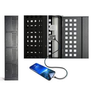 Multifile Perforated Powered Locker