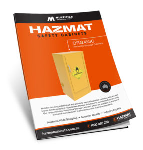 Multifile Organic Hazmat Cabinets