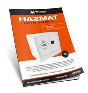 Multifile Toxic Hazmat Cabinets