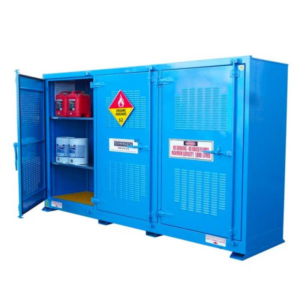 Outdoor 1000 Litre Organic Peroxide Storage Cabinets