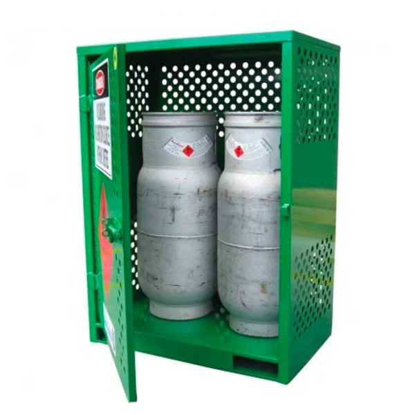 2 Cyclinder Forklift LPG Gas Bottle Storage
