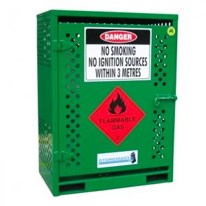 2 Cyclinder Forklift LPG Gas Bottle Storage