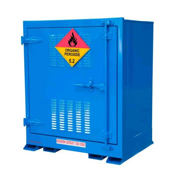 Outdoor 250 Litre Organic Peroxide Storage Cabinets