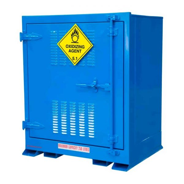 Outdoor 250 Litre Oxidising Agent Storage Cabinets