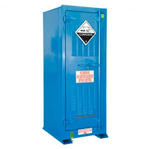 Outdoor 250 Litre Vertical Corrosive Substance Storage