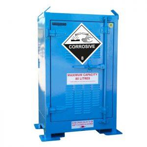 80 Litre Corrosive Substance Storage