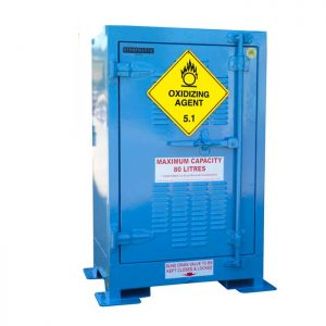 Outdoor 80 Litre Oxidising Agent Storage Cabinets