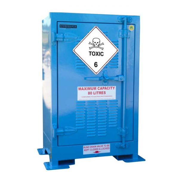 Outdoor 80 Litre Toxic Substance Cabinet Class 6.1