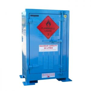 80 Litre Flammable Liquids Storage Cabinets Outdoor use