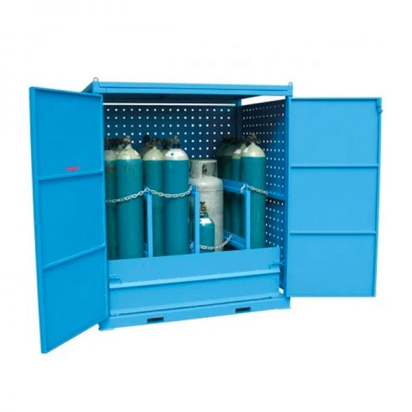 Outdoor Gas Cyclinder Storage